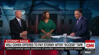 WSJ  Cohen reversed course on Stormy Daniels payment after Access Hollywood tape release CNN