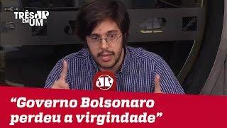 """Joel Pinheiro: """"Governo Bolsonaro perdeu a virginidade"""""""