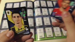 Apertura Caja Champions League 2018 2019 cromos Topps Stickers