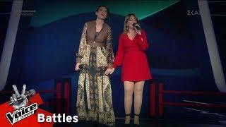 Κωνσταντίνα Μόρτογλου vs Ευφημία Κουλλιά - Θαλασσάκι μου | 2o Battle | The Voice of Greece