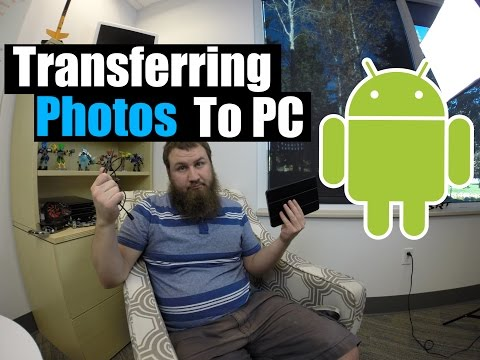 How to transfer photos from your Android phone/tablet to your PC.