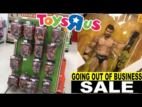 DEEP WWE ELITE DISCOUNTS RARE FINDS AT TOYSRUS!