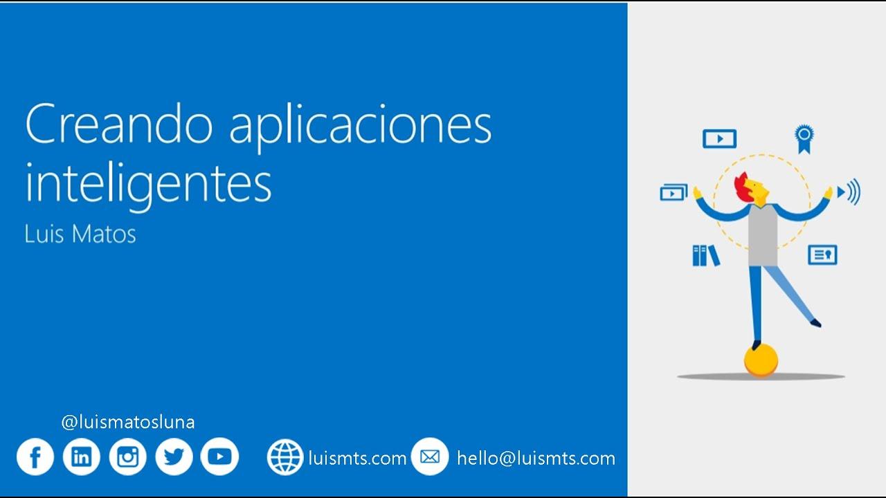 Cognitive Services: Creating Smart Applications - Luis Matos
