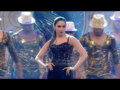 Tamannaah's rocking performance @ Ananda Vikatan Cinema Awards