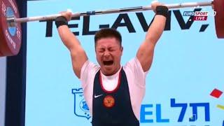 2014 European Weightlifting Championships, Men 69 kg \ Тяжелая Атлетика. Чемпионат Европы