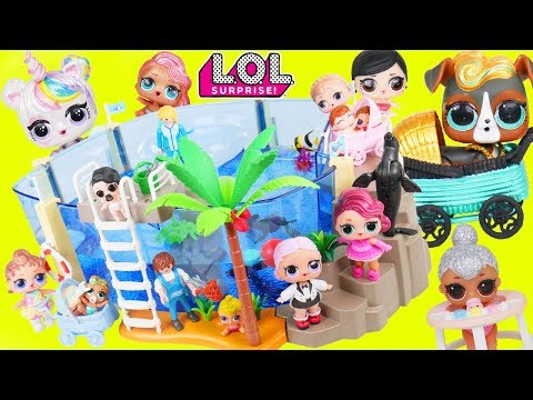 Custom LOL Surprise Doll School Trip to Aquarium   Lil Luxe Baby Pets Customized DIY Unicorn