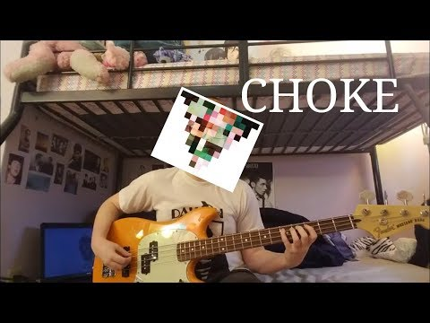 Choke - I Don't Know How But They Found Me (Bass Cover)