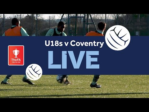 Aston Villa U18 v Coventry U18 | FA Youth Cup Live