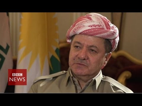 'We've got no hesitation in combating terrorism' says Massoud Barzani - BBC News