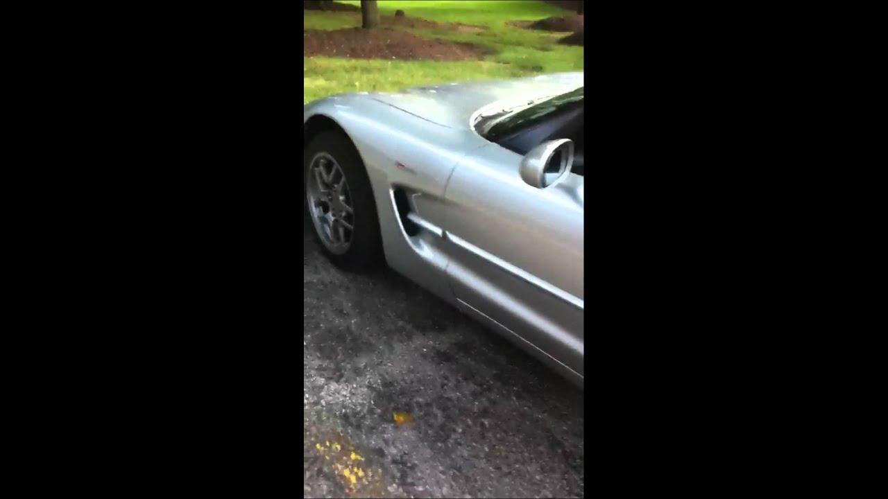 2003 corvette z06 MS3 cam idle - YouTube