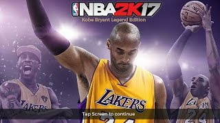 NBA2k17 Kobe Bryant Edition Android Gameplay
