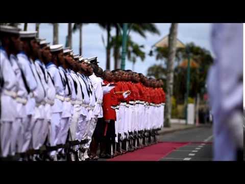President Ratu Epeli Nailatikau Guard of Honour
