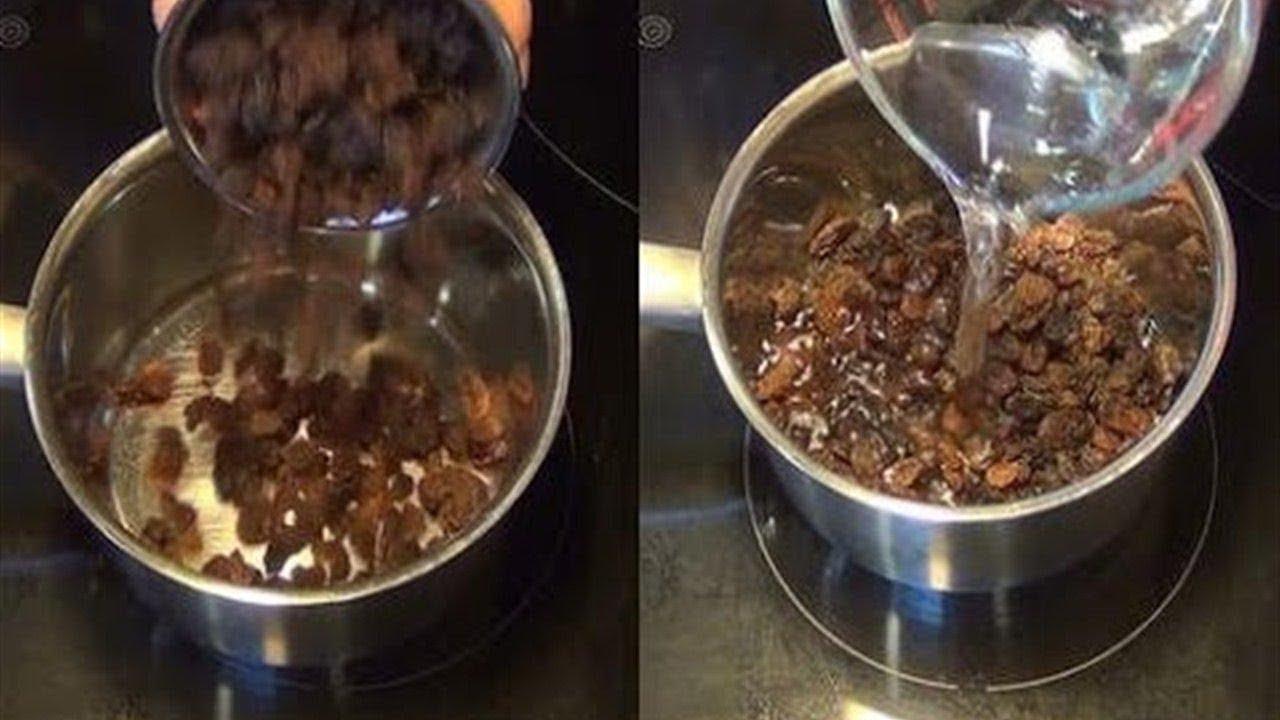 Resultado de imagen para Agua de pasas en las mañanas para limpiar el hígado en solo 2 días