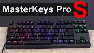cooler master masterkeys pro s mechanical gaming keyboard review