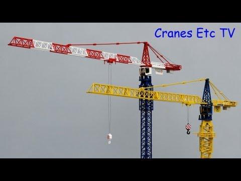 Conrad Liebherr 112 EC-H Tower Crane 'Vinci' / 'Van Wellen' by Cranes Etc TV
