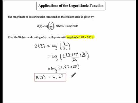 "application of logarithms in real life After understanding the exponential function, our next target is the natural logarithm given how the natural log is described in math books, there's little ""natural"" about it: it's defined as the inverse of e^x, a strange enough exponent already."
