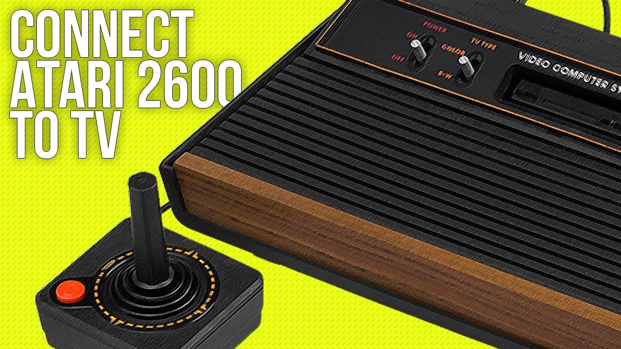 connect atari 2600 to a tv best method 2018  [ 1280 x 720 Pixel ]