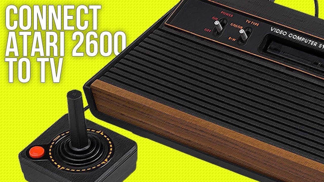 medium resolution of connect atari 2600 to a tv best method 2018