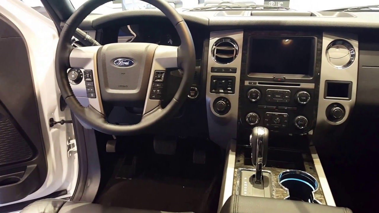 Ford Expedition Limited Interior  Chicago Auto Show