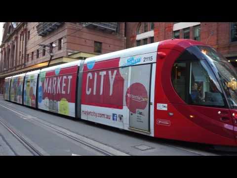 Sydney Light Rail Short Trip - Sydney Central Railway Station to Chinatown