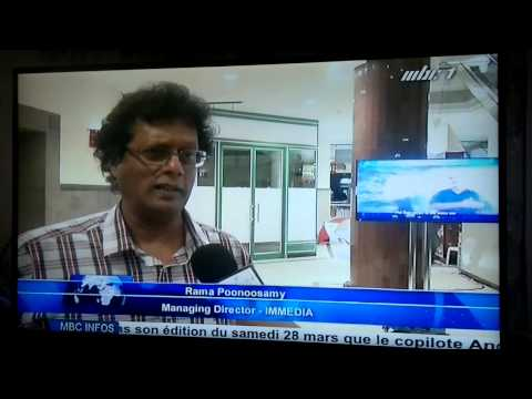 Le journal televise 19h30 le cr ole mauricien 28 03 for Creole mauricien