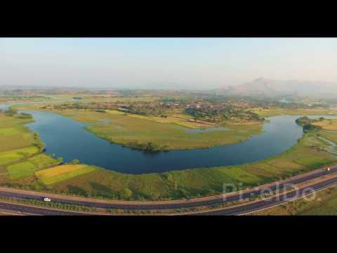 Maharashtra Agriculture Aerial Drone Footage