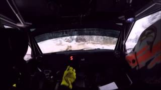 Kalle Rovanperä - Rally Sarma 2016   SS10   Incar