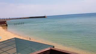 Один из лучших песчаных пляжей Крыма