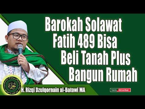 Barokah Solawat Fatih 489 Bisa Beli Tanah Plus Bangun Rumah