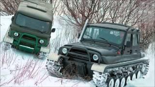 Авто для полювання і риболовлі. УАЗ. 2 частина.