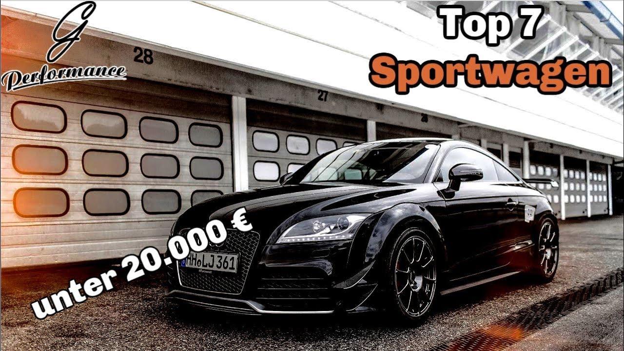 Die besten Sportwagen für unter 20.000 € | G Performance