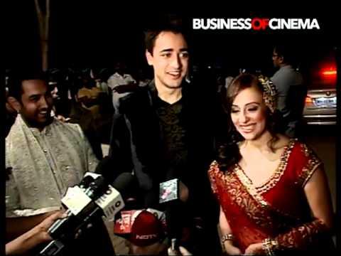 Imran Khan and Avantika Malik at their Mehndi & Sangeet Ceremony