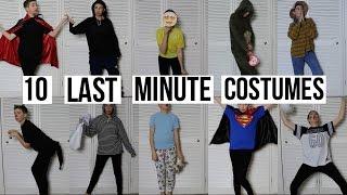 10 Last Minute Halloween Costume Ideas   Easy & Cheap DIY Costumes!
