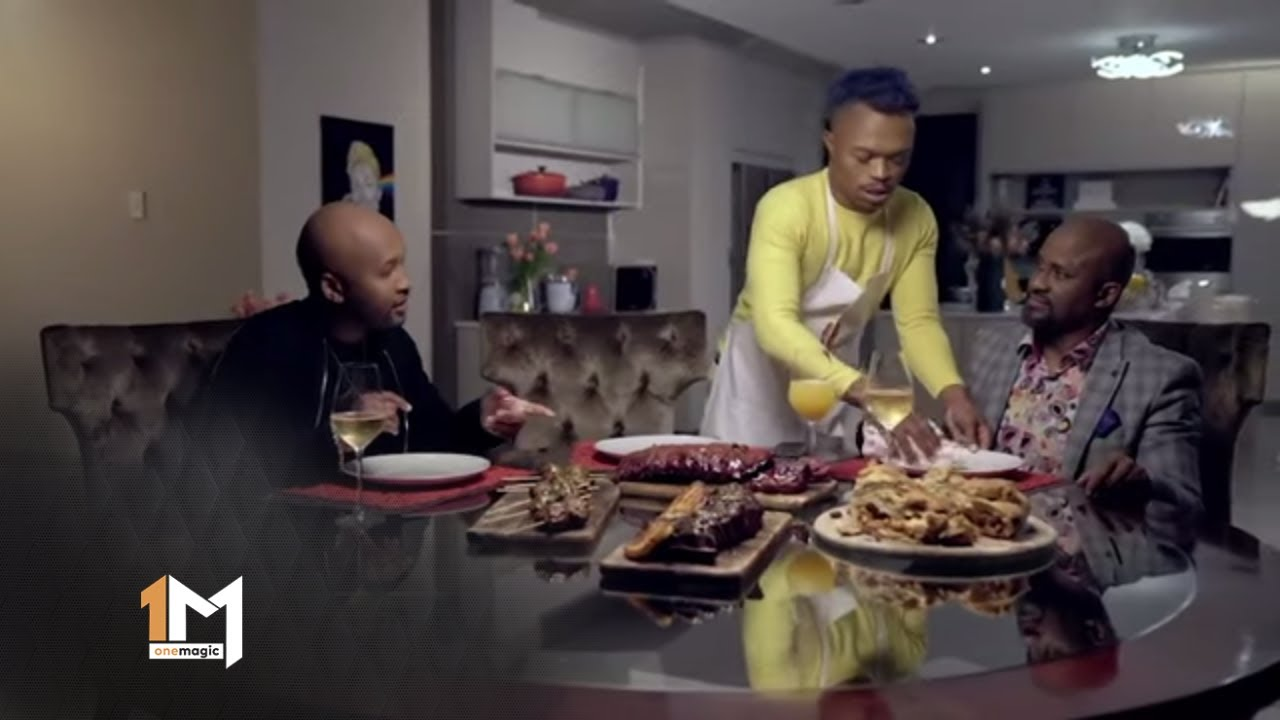 Ringo Madlingozi and Vusi Nova Feast – Dinner at Somizi's | 1 Magic
