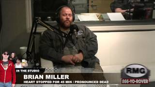 """Brian Miller, dead for 45 minutes, talks about seeing """"heaven"""""""