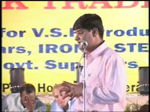 Kavi Kavita Kavi Sammelan, Manch Sanchalak & Anchor Buddhi Prakash || Haidrabad Jain Surana Sangh ||