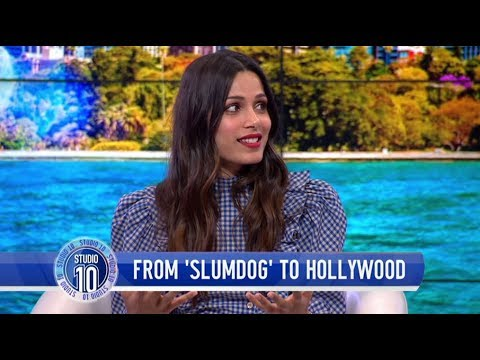 Freida Pinto Talks Life After 'Slumdog Millionaire', Turning Down Roles & More  Studio 10