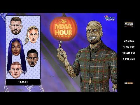 Download The MMA Hour: Michael Bisping, Petr Yan, Kayla Harrison, and More | Oct. 25, 2021