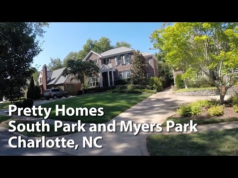 Charlotte SouthPark and Myers Park Area - Walking and Driving Views
