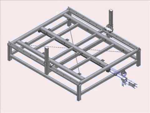Tham khảo DEMO dựng máy CNC 2