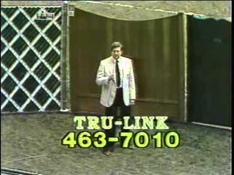 Tru Link Fence commercial with Milo Hamilton