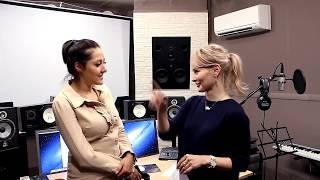 Олеся Ермакова в гостях у Жанны Серопян - Урок вокала и интервью
