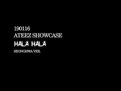 190116 에이티즈 쇼케이스 – HALA HALA 성화 ver. (4k)