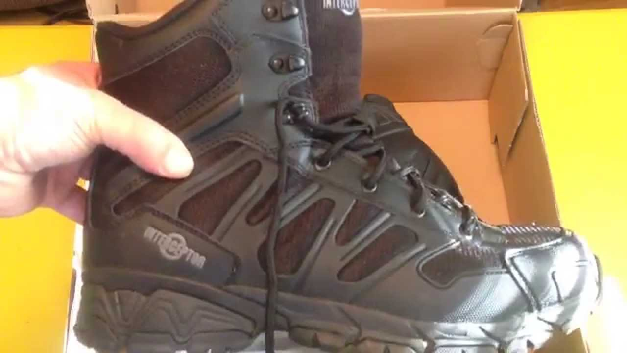 Interceptor Police Military Tactical Boots Customer Review