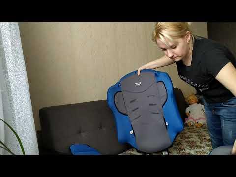 Детское автокресло Nils, как разобрать и собрать. Стирка чехлов детского кресла.