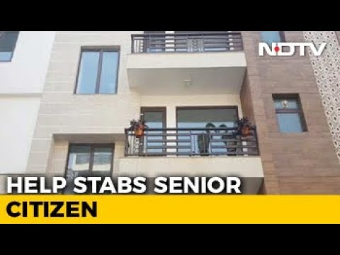 Senior Citizen Stabbed 10 Times In Delhi, Uses Same Knife To Attack Maid