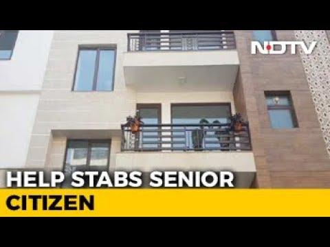 Senior Citizen Stabbed 10 Times In Delhi,...