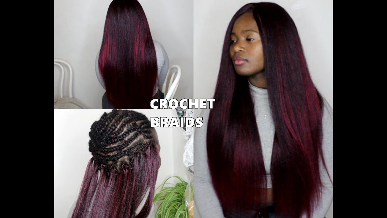 Crochet Hair How To : HOW TO DO NEAT CROCHET BRAIDS - YouTube