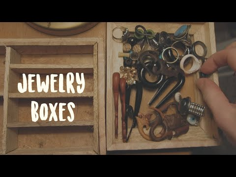 wordless ASMR - jewelry boxes (HD)