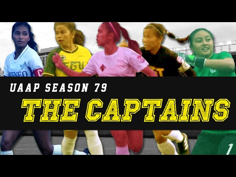 UAAP 79 Women's Football - The Captains